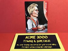 Unstoppable Gerry Anderson FIREBALL XL5 - LOUISE DRAPER Sketch Card SK1 - Zodiac