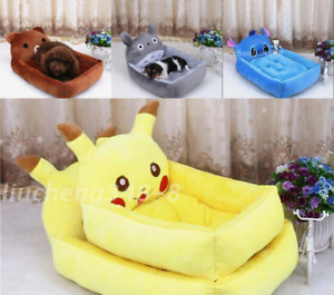 Cartoon Dog Cat Winter Bed Mat Durable Kennel Doggy Puppy Cushion Basket Stack-1