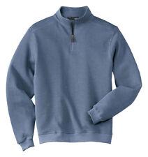 Port Authority Men's Long Sleeve Neck Quarter Metal Zipper Pullover. F220