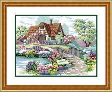 "NEW Cross Stitch Kits""Dream home"""