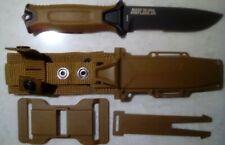 Gerber StrongArm Fixed Blade Knife Serrated Edge Coyote 30-001059