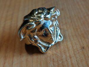 Mens versace ring Medusa head