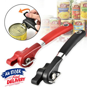 Side Can Opener Stainless Steel Cut Lid Safe Smooth Edge Tin Manual Professional