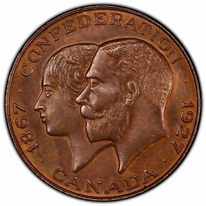 CANADA: 1927 60th Anniv. Confed. Token PCGS MS64BN —> SINGLE TOP POP BY 2 POINTS