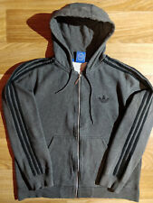 Adidas Originals 90 s Mens Hoodie Tracksuit Top Jacket Hooded Gray Black ·  Sudadera con capucha ... 475f7f5282430