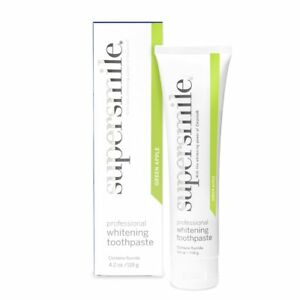 SUPERSMILE WHITENING TOOTHPASTE 119g (Green Apple) - BEST BEFORE 5/21