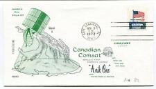 1972 Canadian Comsat Anik One World's First Domestic Delta Cape Canaveral USA