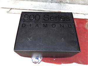 B&W Bowers and Wilkins Casters Feet fr 802 Diamond 802D Nautilus 801 castors box