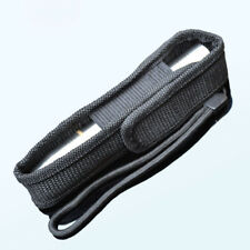 Tactical Holder Belt Black LED Cover Case Flashlight Torch Bag Pouch
