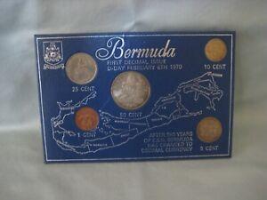 1970 Bermuda First Decimal Issue