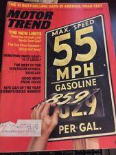 Motor Trend Magazine April 1975 Max Speed 55 MPH New Limits  (JJ) AZ J