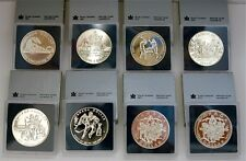 Royal Canada Mint Uncirculated Silver Dollar Lot 86' 87' 88' 89' 90' 93' 94' 94'