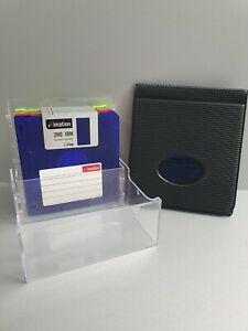 Imation 9x 1.44mb 3.5inch Floppy Disks W/ Dsx Floppy Disk Holder