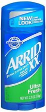 ARRID XX Anti-Perspirant Deodorant Solid Ultra Fresh 2.70 oz (Pack of 2)