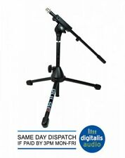 SHORT MIC STAND KICK DRUM MIC STAND GUITAR AMP HEAVY DUTY MICROPHONE STAND