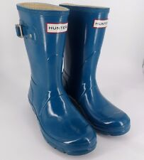 Hunter Original Gloss Short Wellies UK 4 EU 37 JS30 24