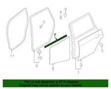 GENUINE MITSUBISHI BELT WEATHER STRIP FOR ENDEAVOR (2004-2011) (RIGHT)