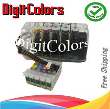INK CIS Epson Stylus C120 Printer Cartridge T0681-T0691/2/3/4 Prefilled CIS C120