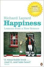 Happiness: Lessons from a New Science, Layard, Richard, New Book