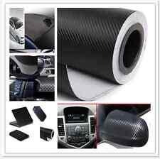1.27m X 30cm Carbon Fiber Wrap Roll Sticker For Car Phone Bike Auto Vehic