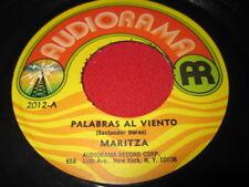 MARITZA 45 - PALABRAS AL VIENTO - AUDIORAMA RARE LATIN