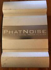 PHATNOISE PHATBOX DIGITAL MEDIA PLAYER CAR AUDIO SYSTEM