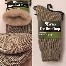 1 Pair Lorpen The Heat Trap Men's 7 - 9 Womens 9 - 11 Fleece Lined Thermal Socks