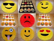 Cool Emoji Smily Face Rugs Fluffy Girls Boys Childrens Bedroom Floor Mats Cheap