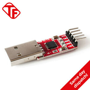 USB to TTL UART CP2102 Serial Converter Adapter Module Arduino Programmer 5 Pins
