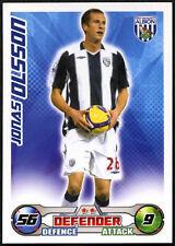 Jonas Olsson - West Bromwich Albion - Match Attax 08/09 Trade Card (C415)