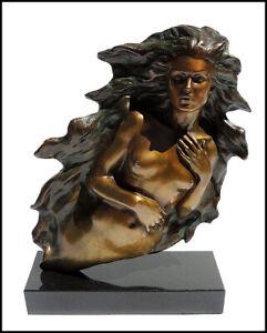 Frederick Hart Awakening Of Eve Bronze Nude Female Signed Sculpture Modern Art