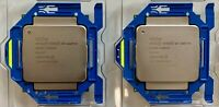 2x Intel Xeon E5-2667 V3 Matched 3.2GHz 8 Core 20M SR203 LGA 2011 CPU Processors