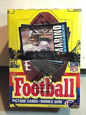 1985 Topps Football Wax Box 36 Packs  Mint  Unopened BBCE  Authentic PSA 10 ?