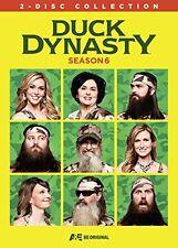 Duck Dynasty . Season Six . 6. Staffel . 2 DVD . NEU . OVP