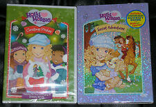 Kid DVD Lot - Holly Hobbie & Friends Christmas Wishes (New) Secret Adventures
