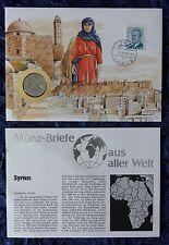 Numisbrief-siria/Syria-con 1 Pound moneda - 1991