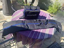 Insulated Thick Seehoner Ski Bag Combo Boot Bag for Ski Poles Boots and Helmet