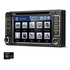 "6.2"" Car DVD Player GPS Stereo Radio For Toyota RAV4 Hilux Fortuner Vios Prado"