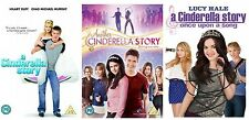 A Cinderella Story Complete Trilogy 3 Disc Lucy Hale, Missi Pyle DVD Collection