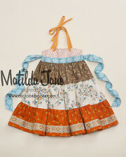 Girls Matilda Jane Platinum Sittin' in a Tree Tiered Ellie Dress size 10 NWOT