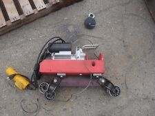 CHICAGO ELECTRIC 220LB SINGLE, 440LB DOUBLE ELECTRIC HOIST WITH BEAM TROLLEY