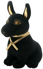 Black and Gold Egyptian Pyramid Anubis Small Soft Plush Doll Toy