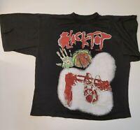Vintage Reebok BlackTop Black / Red Graphic T-shirt size XL