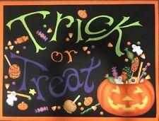 """Halloween Trick or Treat Coir Doormat 24""""x 18"""""""