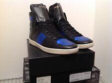 YVES SAINT LAURENT YSL SL10H Court Classic Sneaker Men US 13 / 14  Blk Royal 47