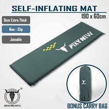 Self Inflating Mattress Sleeping Mat Pad Air Bed Camping Hiking Joinable Single
