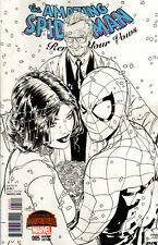 AMAZING SPIDER-MAN Renew your vows #5 Joe Quesada SKETCH Cover 1:200