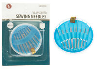 30pc Assorted Sewing Needles Set Embroidery Tapestry Tailoring Stainless Steel