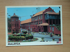 Malaysia Postcard - Malacca Dutch Christ Church. postmarked 2002