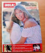 HOLA 1771 ANN TURKEL Cover+2 Pg 1978 AMANDA LEAR ANTHONY PERKINS NADIA COMANECI